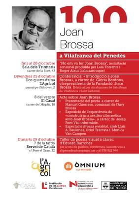 100 anys Joan Brossa a Vilafranca del Penedès