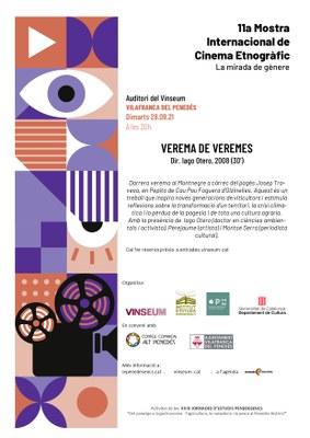 "11Mostra Internacional de Cinema Etnogràfic - Documental  ""Verema de Veremes"""