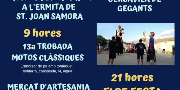 13a. Trobada de motos clàssiques -Festa Major Sant Joan Samora