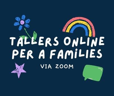 Tallers online per a famílies