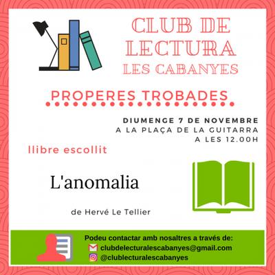 Club de lectura novembre