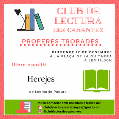 Club de lectura desembre