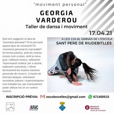 "Fem Dansa Riudebitlles. ""moviment personal"" amb Georgia Vardarou."