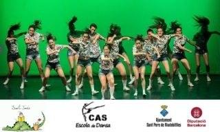 Exhibició amb l'escola Cas de Dansa de Vilafranca del Penedès.