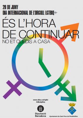 28 de juny Dia per l'Alliberament de lesbianes, gais, trans, bisexuals i intersexuals
