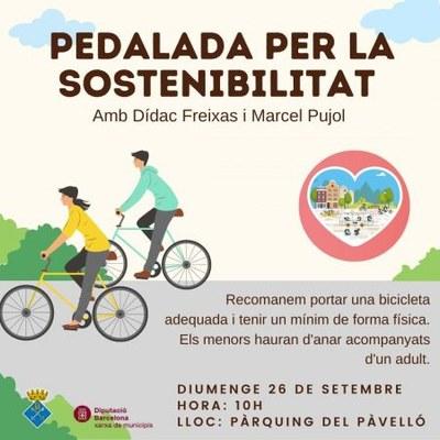 Bicicletada per la sostenibilitat