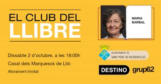 El club del llibre amb Maria Barbal