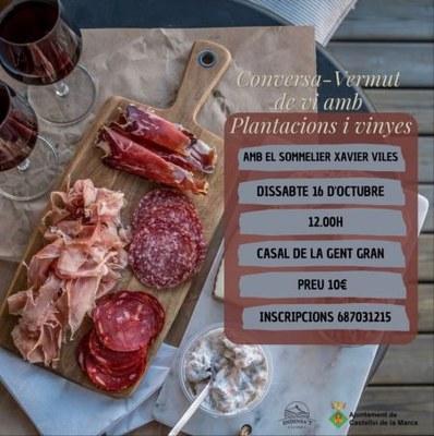 Conversa-Vermut de vi amb Plantacions i Vinyes