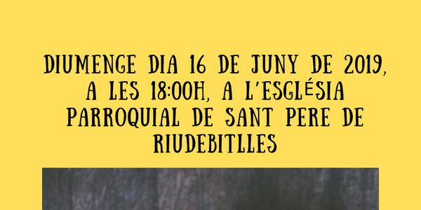 3ER CONCERT DE LA PRIMAVERA DE LA CORAL SANT JORDI