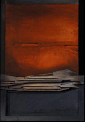 Silentium, una mostra pictòrica de gran format de l'artista Josep Maria Avilés