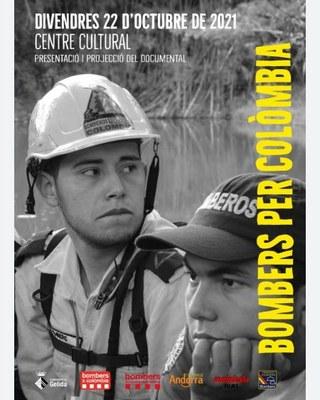 Presentació del documental Bombers per Colòmbia