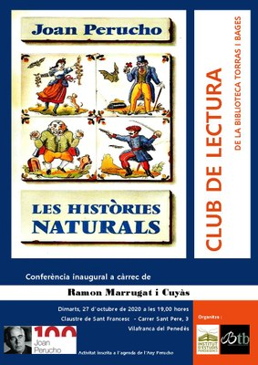 A propòsit de Joan Perucho. Conferència inaugural Club de Lectura Biblioteca Torras i Bages - Any Perucho