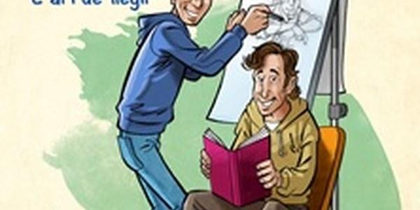 """Activitat infantil """"L'art de llegir"""" amb l'escriptor Joan de Déu Prats i l'il·lustrador Òscar Sardà"""