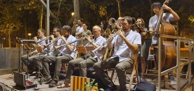 Audició de sardanes en format concert  cobla catània