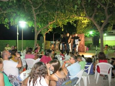 Bona nit a la piscina de Torrelavit