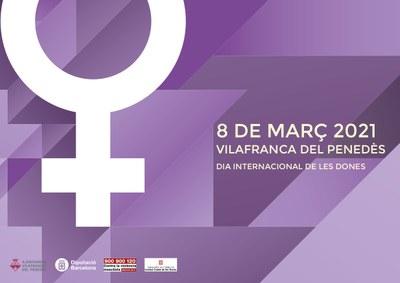 """8 de març. """"On són les dones? Carrers amb nom de dona a les poblacions de l'Alt Penedès""""."""