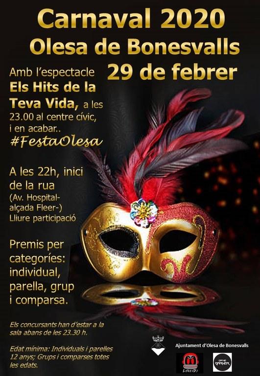 carnaval 2020 Olesa de Bonesvalls