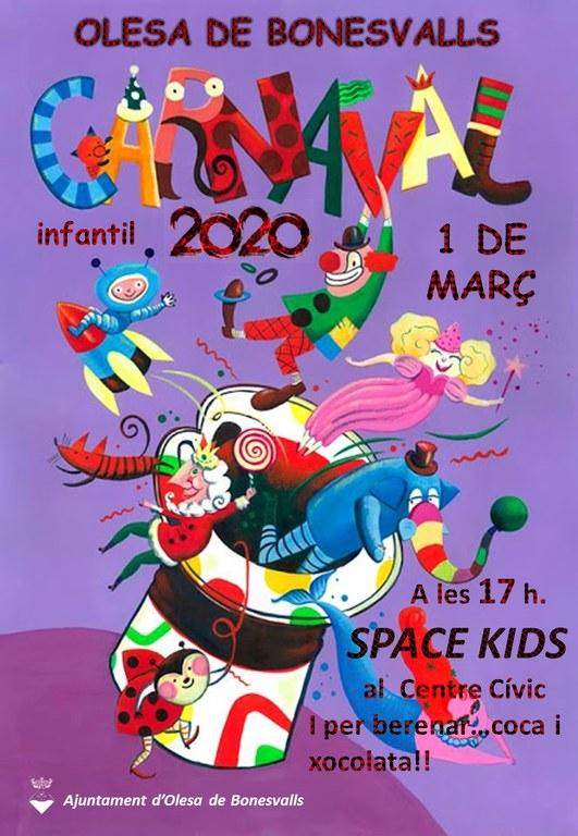 Carnaval Infantil 2020 Olesa de Bonesvalls