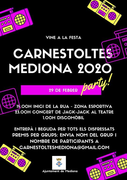 Carnestoltes Mediona 2020