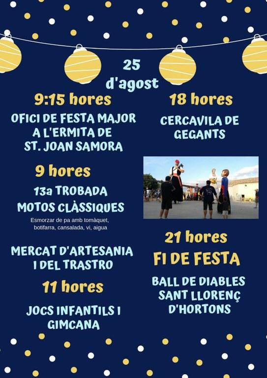 cartell dia 25  FM Sant Joan