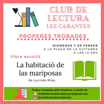 Club de lectura Febrer 2021
