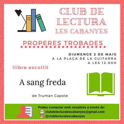 Club de lectura Maig 2021