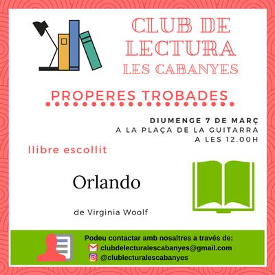 Club de lectura Març 2021