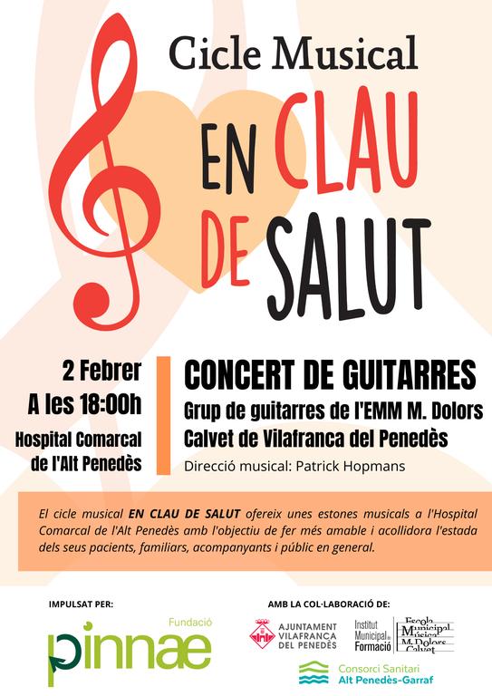 Cicle de Concerts EN CLAU DE SALUT
