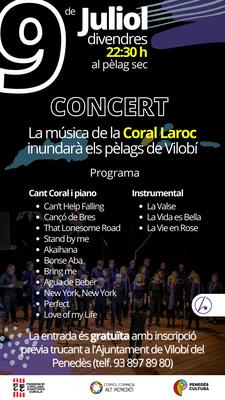 Coral Laroc. Cicle de Concerts al Parc dels Talls