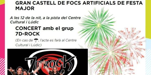 """CONCERT AMB EL GRUP """"7D-ROCK"""""""