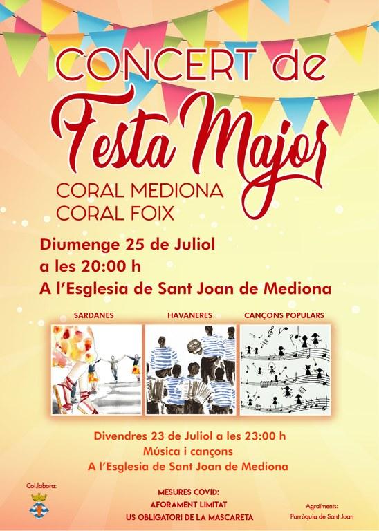 Concert de Festa Major Mediona 2021