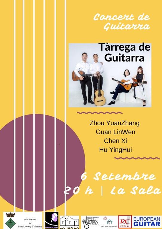 cartell concert guitarres