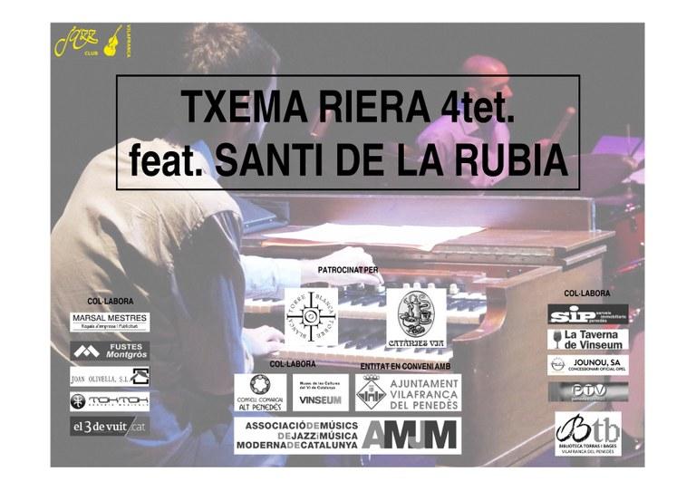 Txema Riera feat. Santi de la Rubia