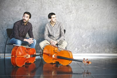 Concert de Santa Cecília - Claret cello duo