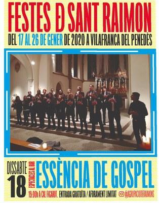 """Concert Essència de Gospel a """"Cal Figarot"""""""