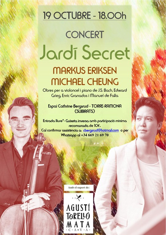 Concert Jardí Secret