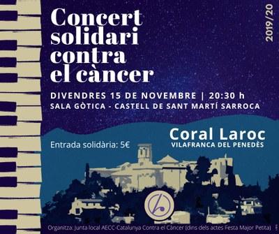 Concert solidari contra el càncer