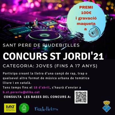 Concurs literari Sant Jordi Sant Pere de Riudebitlles
