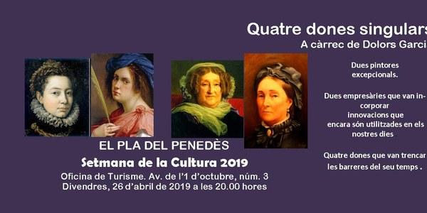 """Conferència """"Quatre dones singulars"""""""