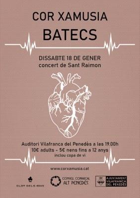 Cor Xamusia presenta, BATECS