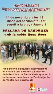 Diada del soci Vilafranca Sardanista
