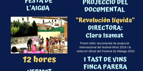 "Documental ""Revolución líquida"" -Festa Major Sant Joan Samora"