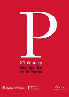 Exposició: Silentium, Acció vinculada a l'exposició. Dia Mundial de la Poesia