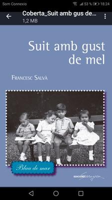 Presentació del Poemari inèdit del Francesc Salvà i de la 2a edició del Bon dia