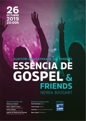 ESSÈNCIA DE GOSPEL & FRIENDS I NEREA BASSART
