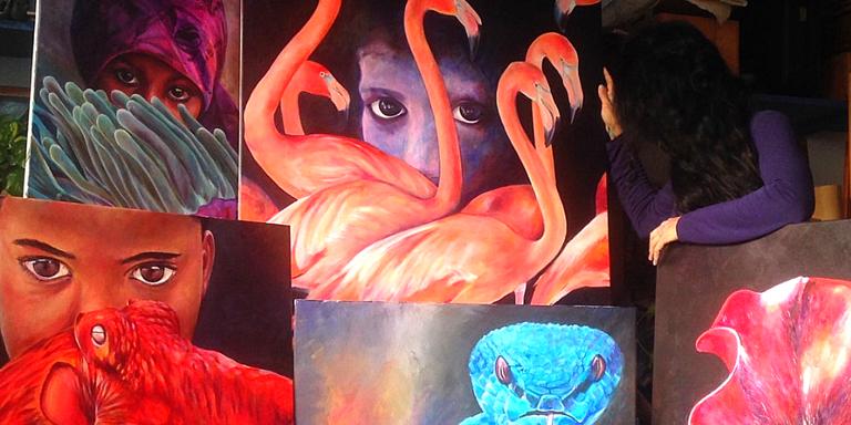 Exposició ANÀLOGA de Maria Vernet