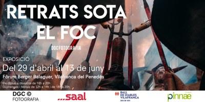 Exposició - RETRATS SOTA EL FOC