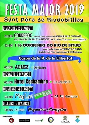 FESTA MAJOR SANT PERE DE RIUDEBITLLES