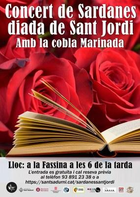 FOMENT SARDANISTA SANT SADURNÍ - Concert  Diada de Sant Jordi