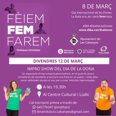 Impro show del Dia de la Dona